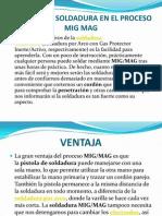 Tecnicas Para Realizar Una Soldadura en El Proceso Mig Mag