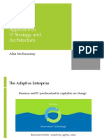 Approach to IT Strategy and Architecture