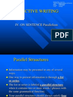 a01-Effective Writing_on Sentence Parallelism