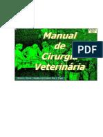 Manual de Cirurgia Veterinária