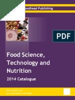 Food Science Catalogue