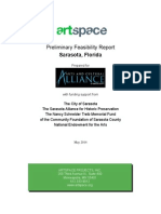Artspace Preliminary Feasibility Report