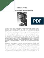 Lukacs, Georg - La Forma Clásica de La Novela Histórica