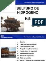 Caracteristicas Del Sulfuro de Hidrogeno
