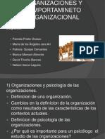Organizaciones y Comportamineto Organizacional