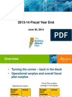 2013-14 Fiscal Year End