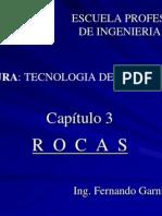 CAP 3  - ROCAS