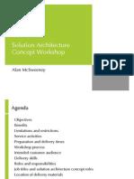 Solution Architecture Concept Workshop