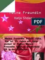 Freundin - Katja Shdan
