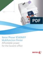 Xerox 8560MFP Brochure