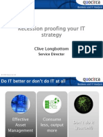 Recession proofing your ITstrategy