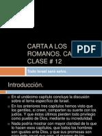 Carta a Los Romanos, Cap. 11 Clase # 12