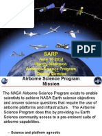 NASA Airborne Science Program - SARP 2014