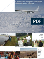 Scaling from Ground Observations to Regional Assessments with Remote Sensing and Modeling - SARP 2014