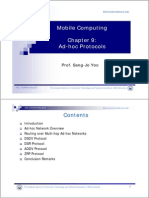 9 Ad Hoc Network Protocols