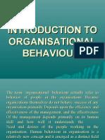 organisational behaviours 3 dec 08