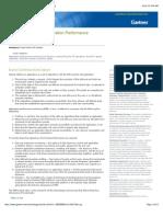 2012 Magic Quadrant for Application Performance Monitoring (x)