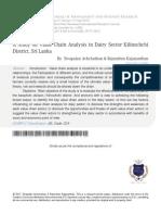 Study on Value Chain Analysis