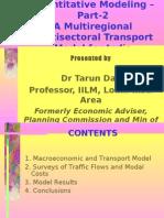 Quantitative Modelling-Part-2 by Tarun Das