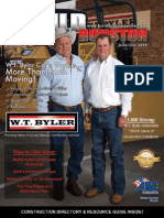Build Houston Magazine - July/July 2014