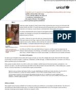 los niños y niñas atrapados por la guerra en la república democrática del congo