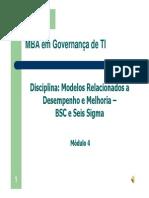 Mba - Bsc e 6sigma_mod4