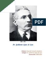 BIOGRAFÍA Dr. Guillermo López de Lara