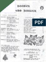 Hoosier Chess Journal Vol. 7, No. 3 Oct-Nov 1985