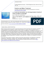 [2011] 3D Numerical Simulation on Mixing Process in Ducts of Rotary Pressure Exchanger