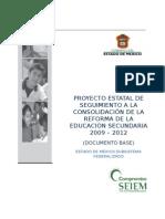 Proyecto Estatal de Seguimiento 2009 - 2012 Final_bis