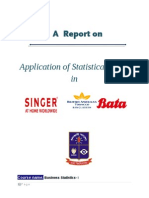 Application of Statistical Tools in Singer, BATBC and BATA