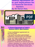 WTO-GATS and Indian Financial Sector by Tarun Das
