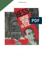 Cartas Desde La Celda 7 - Hess