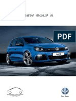 42653 Vw Golf r Spec Booklet
