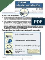D-LINK DI-524 User Guide