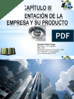 03. Presentación de La Empresa y Su Producto