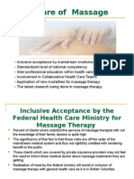 The Future of Massage Therapy-Presentation-final