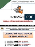 Hermenêutica Meb Avançado_aula Final Stec