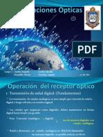 Operación Del Receptor Óptico