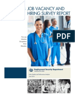 Job Vacancy and Hiring Survey Report 2013 Fall