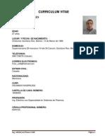 Curriculum Adrian Franco