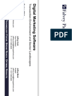 Digital Marketing Transaction Environment and Sector Landscape_Spring 2014