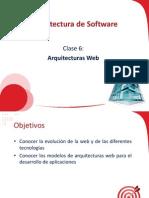 Arquitecturas Web