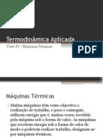 Termodinâmica Aplicada - Parte V