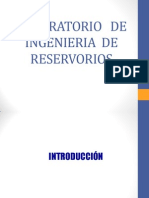 Laboratoria de Ingenieria de Reservorio - PVT