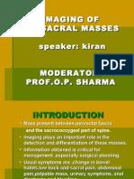 Imaging Presacral Masses