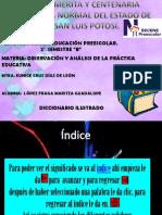 Diccionario de Primero Periodo
