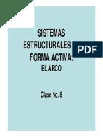 8 Sistemasestructuralesdeformaactivaelarco 130202150516 Phpapp01