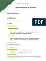Manual de Encuestador Estructura