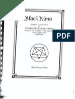 Black Runa by Stephen Flowers